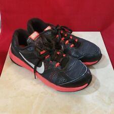 Nike Fusion Run 3 Black & Red Size 3Y 654153-002