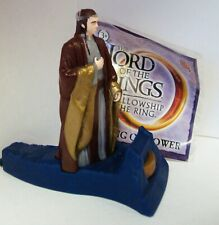 LORD OF THE RINGS FELLOWSHIP LOTR BURGER KING BK ELROND 100% COMPLETE