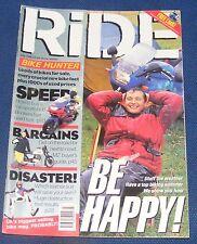 RIDE MAGAZINE JULY 1996 - BE HAPPY!
