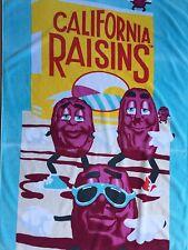 Vintage Beach Towels California Raisins