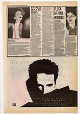 John Waite No Brakes Advert NME Cutting 1984
