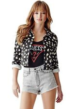 🍃🌼 GUESS NEW WOMEN'S CROPPED JACKET 🌼🍃