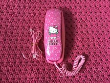 Hello Kitty Desktop/Wall Telephone, 2009 Sanrio Co. Ltd., Gently Used