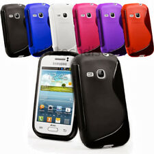 Housse etui coque pochette silicone gel pour Samsung s6310 Galaxy Young + film