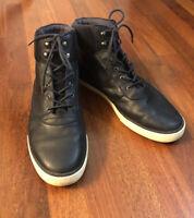 ALDO Navy Blue Lace Up High Top Fashion Sneakers  Men's Size 13 EUC
