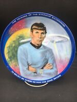 Star Trek Mr Spock 8 1/2 Inch Collector Plate ~
