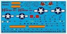 Peddinghaus 2141 1/48 P 47 HUN Hunter XVI, Museo de máquinas TENNESSEE Air MUSEO