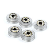 5pcs Linear Bearing CNC Polycarbonate V-groove Wheel Pulley Parts For 3D Printer