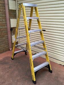Gorilla Ladder,1.8M Double Sided Step Ladder