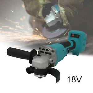 For Makita 18V Li-ion 125mm Cordless Brushless Cordless Angle Grinder Tool Bare