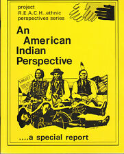 Project Reach Ethnic Perspective Series: American Indian Perspective