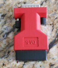 Genuine Snap-On Scanner DA-5 Main Data Cable Adapter VERUS VERDICT SOLUS