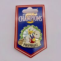 Disney Donald Duck Summer Of Champions Perseverance 2008 Trading Pin