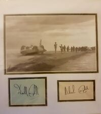 DONALD AND  MALCOLM CAMPBELL BLUEBIRD SIGNED DISPLAY