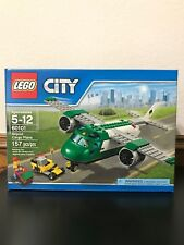 CITY LEGO SET NEW in Box Sealed Airport Cargo Plane Green 60101 retired