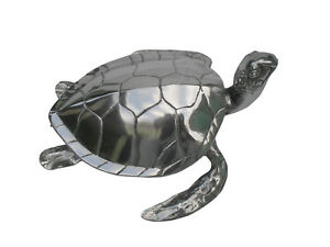 Large Tortoise Metal Turtle Statue 40 cms Christmas New Year