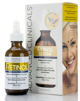 Advanced Clinicals Anti-Wrinkle Retinol Serum 1.75 Fl Oz (52mL)