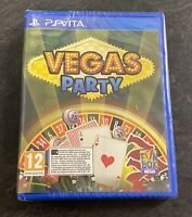 PS Vita - VEGAS PARTY - Sony PlayStation Vita Game - NEW Sealed - FAST FREE POST