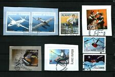 Aland - 8 diff used 2007-15 - FDC cancels