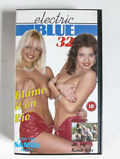 Electric Blue 32 Blame It On Rio 1989 Retail VHS Video