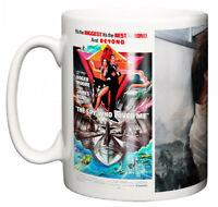 Dirty Fingers Mug, Roger Moore James Bond The Spy Who Loved Me, Film Poster