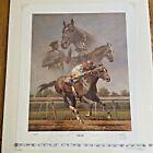 Fred Stone / Cigar & Man O' War & Secretariat / Signed A/P