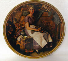 Norman Rockwell's Rediscovered Women Dreaming in the Attic Collector Plate