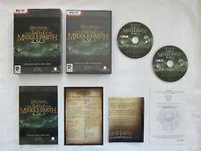 El Señor de los anillos la batalla por la tierra media II Edición Coleccionista PC DVD