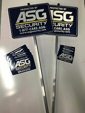 Security System Signs (yard) & Window/door Stickers *NEW* *FREE SHIP*