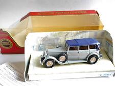 Mercedes Benz 770 (1931) in grau feldgrau grise grey, Matchbox MoY Y-40 boxed!
