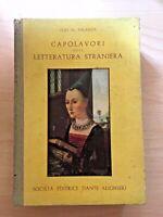 Capolavori della letteratura straniera - Ugo M. Palanza, 1958 - V