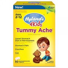 4Kids, Tummy Ache, 50 Tablets - Hyland's UK Stock!