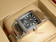De Grisogono Instrumentino Ladies TINOAC N01B With Diamond Lugs 30mm Black Dial