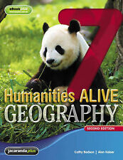 Humanities Alive Geography 7 & eBookPLUS 2nd Ed BNew student book