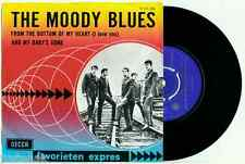 the MOODY BLUES - From the Bottom of My Heart '65 - HOLLAND RARE Fav. Expres PS
