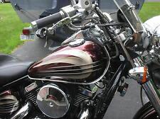 Suzuki Boulevard C50 C90 M109R S40 Motorcycle Chrome Tank Trim