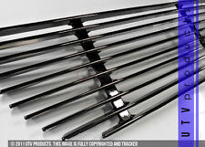 GTG 2003 - 2007 Cadillac CTS 1PC Gloss Black Bumper Overlay Billet Grille Grill