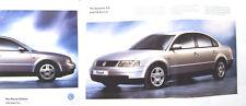VW Volkswagen Passat Saloon Mk4 S SE Sport V5 V6 1997-98 Original Sales Brochure