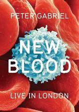 Peter Gabriel: New Blood - Live in London (2011, REGION 1 DVD New)