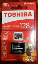 Toshiba microSDXC UHS-1 Card 128gb with Adapter ** ONLY £34.99 **