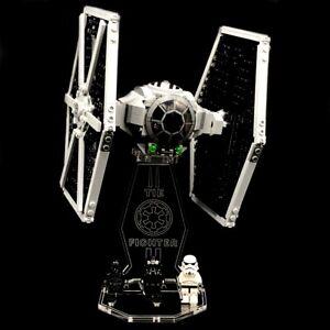 Display Stand Acrylglas Standfuss für LEGO 75300 Imperial TIE Fighter