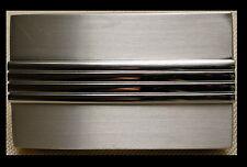 FIRST CLASS Gürtelschnalle NEU für 3,5cm breite Gürtel KOPPEL Schnalle ELEGANT