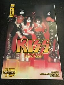 "Kiss:The End#5 Incredible Condition 9.4(2019)""Photo Variant Cover"""