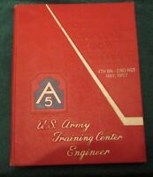 1957 May Fort Leonard Wood Army Engineer Training Yearbook Company A,B,C & D
