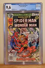 MARVEL TEAM-UP #78 CGC 9.6 - WHITE PAGES **WONDER MAN APPEARANCE**