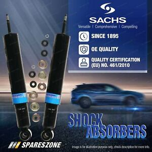 Rear Sachs Shocks for Saab 9-3 YS3F Sedan Convertible with Sports Suspensions