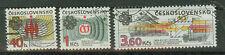 Tschechoslowakei Briefmarken 1983 Weltkommunikationsjahr Mi.Nr.2705+6+8