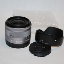 NEW Canon EF-M 15-45mm f/3.5-6.3 IS STM Lens For  EOS-M1 M2 M3 M10 M5 (Silver)