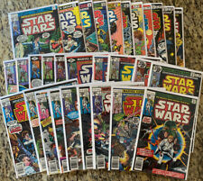 1977 Original Marvel Comics STAR WARS Lot 1-30 Average Condition NM