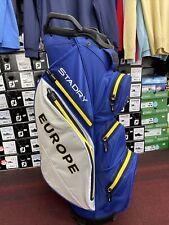 Titleist Europe Ryder Cup 2020 STA DRY Golf Bag. BNWT. PGA Pro Seller.